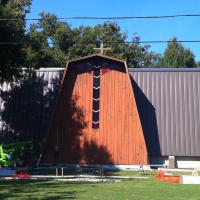 Church Installation of  Metal Roof